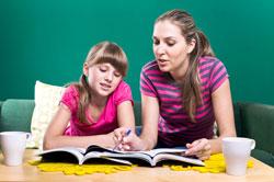 Au pair reading