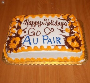 happy Holidays go au pair