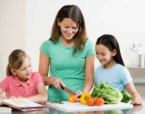 Au Pair-cooking-with-kids