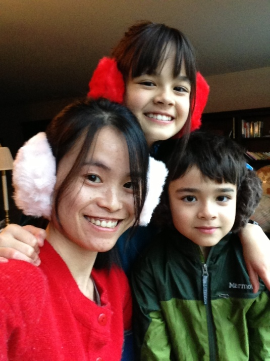 Chinese Au Pair with kids