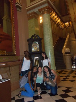 Au Pairs at the Masonic Temple