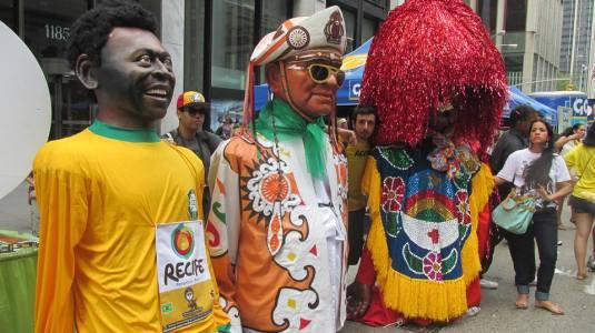 Au Pairs at the brazilian Festival NY