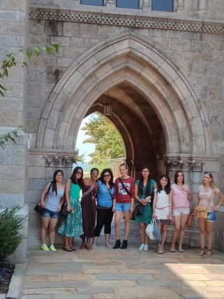 Au Pairs meeting at Bryn Athym 008