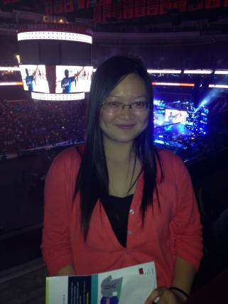 Au Pair at the concert