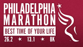 volunteering to the Philadelphia Marathon
