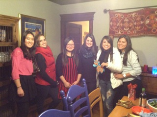Au Pairs at Go Au Pair Chinese new year  party