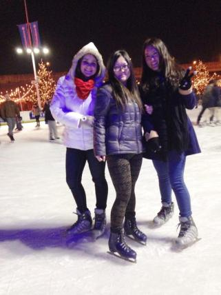 Ice Skating at Blue Cross RiverRink