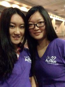 Au Pairs volunteers