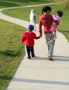 aupair and kids