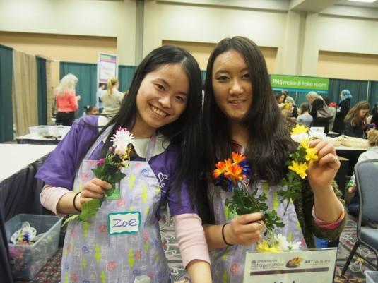 Go Au Pair team is volunteering in Philadelphia Show