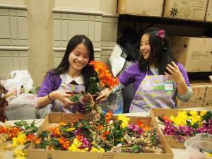 Go Au Pair team is volunteering in Philadelphia