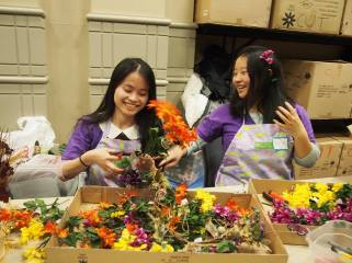 Go Au Pair team is volunteering in Philadelphia