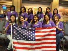 Go Au Pair team volunteered in Philadelphia