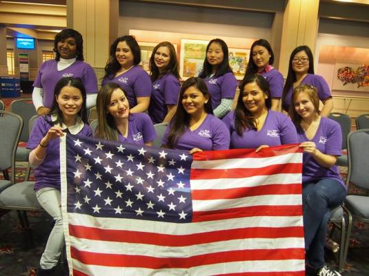 Go Au Pair team volunteered in Philadelphia