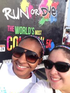 Au Pairs Run and Dye
