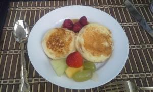 Au Pair Breakfast