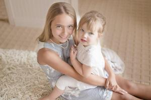 Au Pair host children