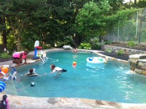 Au Pair swimming Pool