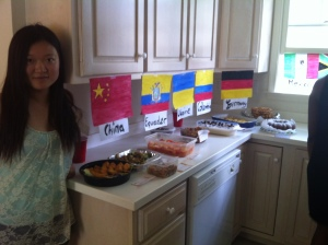 Au Pair international Pot- luck