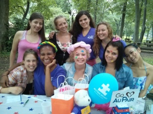 Au Pairs  Bucks County Fundraisng