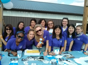 Au Pair volunteering at Bucks County 484