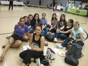 Go Au Pair at the International festival Zumba
