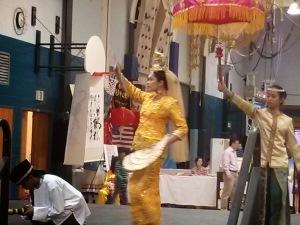Korean performance at the International festival