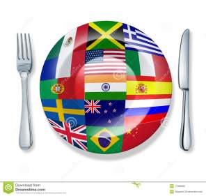 au pairs international food