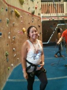 Au pairs at Rock Gym14