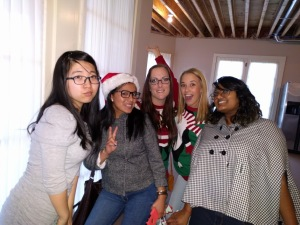 Au Pair Christmas party 4