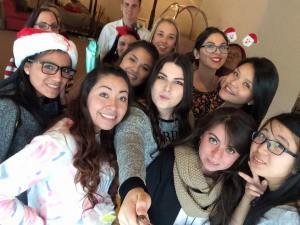 Au Pair Christmas party