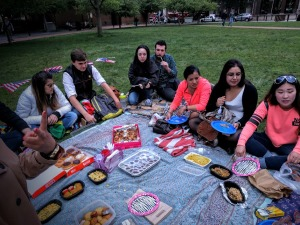 Au Pair farewell picnic Independence National Historical Park 5