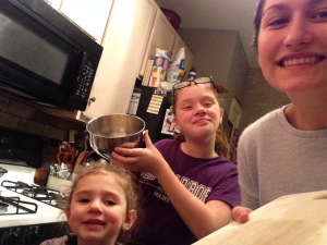 cooking_together Valntine the best Au Pair of the year