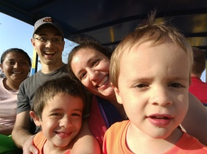 Au Pair and host family