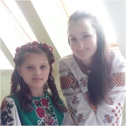 Oksana au pait from Ukraine