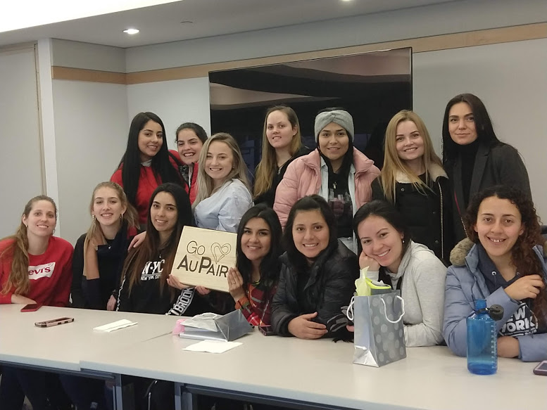 2019 Au Pairs meeting in Philadelphia library
